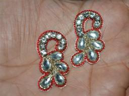 Christmas applique Decorative Applique for dress Headband Applique