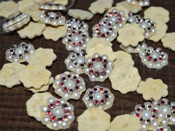 Rhinestone Embroidery Beaded Bridal Appliques
