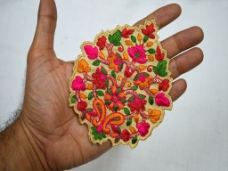 Decorative Scrapbooking  Christmas Indian Dresses Patches