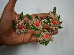 Beaded Embroidery Handcrafted Appliques