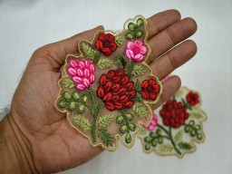 Decorative Indian Dresses Patches And Appliques