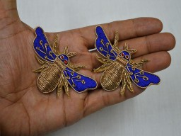 Honeybee Design Appliques For Dress Decoration