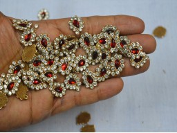 Handcrafted Beaded Crafting Sewing Appliques