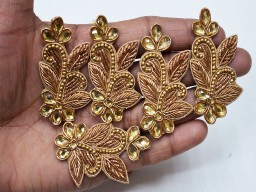Indian home decoration and decorative costume applique patch bullion embellishments handcrafted scrapbooking s..