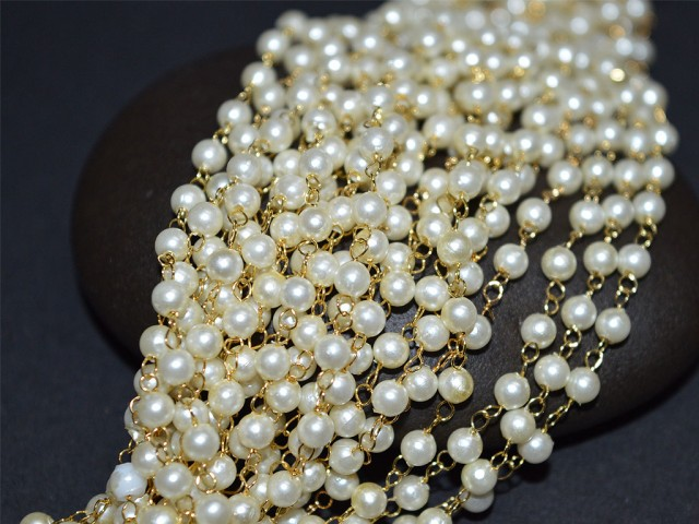 Pearl Beads Chain for necklace and bracelets