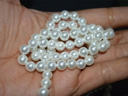 Shell pearl 6 mm White