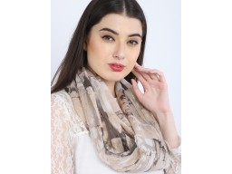 Light brown infinity shawls cowl neck wrap indian polyester women fashion accessories circle scarves spring summer fall winter scarf by 1 pieces christmas birthday gift for mom loop stoles head wrap