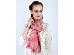 Pink color women accessory scarves wholesale indian rayon party wear stoles beautiful fashion accessories girl..