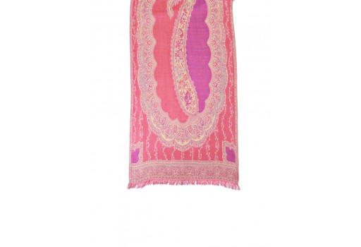 Pink color women accessory scarves wholesale indian rayon party wear stoles beautiful fashion accessories girlfriend christmas birthday summer bohemian long scarf evening wrap online unique gift for ladies
