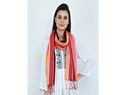 Bohomain long girlfriend christmas birthday stoles indian festive wear scarves decorative multi color printed outstanding handmade bridesmaid evening shawl wrap beautiful rayon autumn scarf by 1 pieces fancy summer stoles birthday gift for ladies