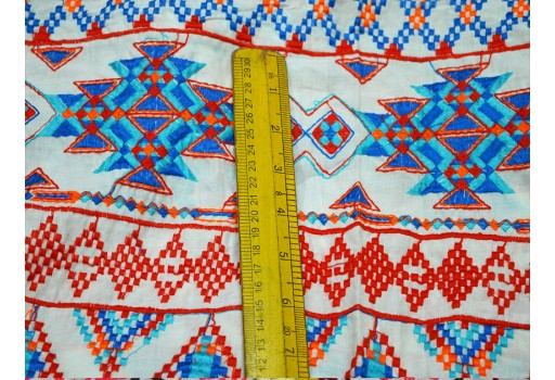 Cotton embroidered fabric sewing Crafting Material Home Decor fabric