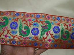 Indian Trim and Laces Jacquard Ribbon