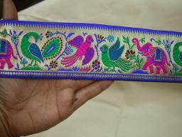 Saree Border Indian Jacquard Ribbon