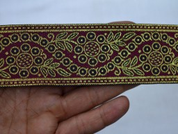 Indian Trims Laces Jacquard Trim By The Yard
