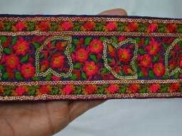 Decorative Trims Indian Sari Border