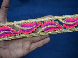Indian Trimmings Embroidered Tapes Fabric trim