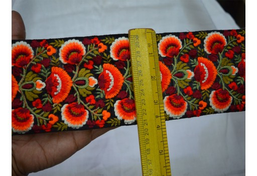 9 Yard Wholesale fancy costume laces Indian sari border embroidered kids wear ribbon decorative sewing accessories fabric suit trim wedding craft decorative thread trimmings