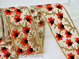 Decorative Indian Laces and Trims Fabric Trim