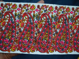 Embroidered Trim Fabric trims and embellishments Trim
