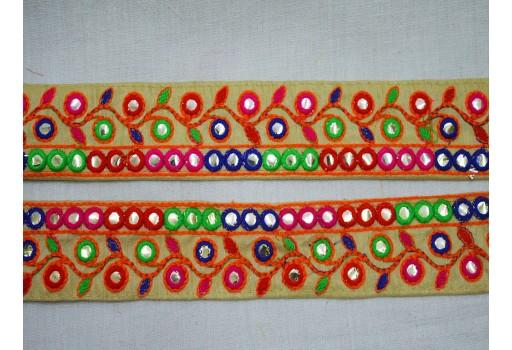 Indian Laces Trim Decorative Sari Border Fabric trims