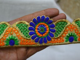Crafting Decorative Sari Border Sewing Trim