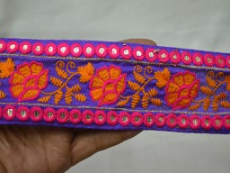 Decorative Crafting Indian Laces Embroidered Trim