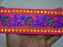 Crafting fabric trims and Embellishments Sari Border