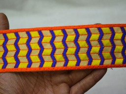 Decorative Indian Laces Sari Border fabric Trimmings
