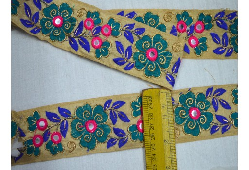 Embroidered Trim Sewing Crafting Trim