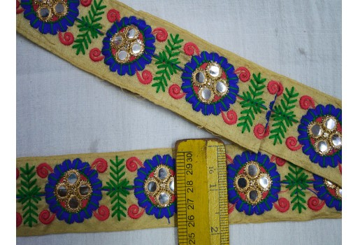 Embroidered Laces Indian Fabric trims