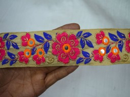 Decorative Sari Border Indian Laces