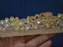 Indian Saree Border Trim Gold Lace Wholesale Sari Border