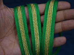 0.8 Inches wide Decorative Indian Laces and Trims Light Green Silk Sari border Trimmings Indian Trims Designer Sewing lace Fashion Trim By 9 Yard