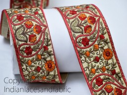 Decorative Laces Craft Ribbon Trim By The Yard Wholesale Trimmings Sari Border