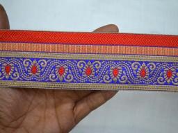 Craft Ribbon Trimmings Jacquard Trim By The Yard Jacquard Border