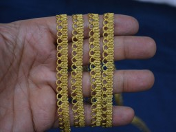 Indian Trim for Sari Borders Gold Ribbon