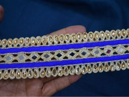Indian Mirror Trim and Laces for saree border