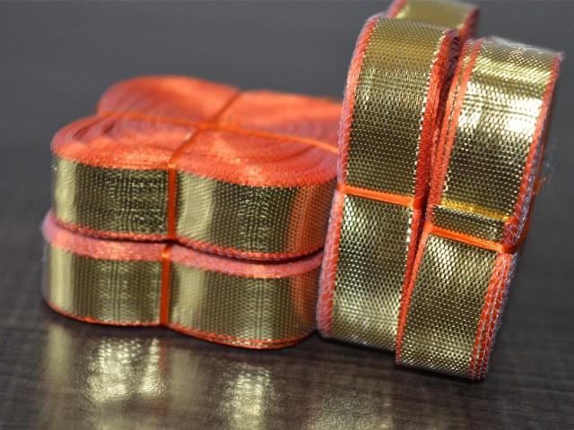 Gold gota trim 18 yard golden gota trim approx gota trim for your wedding dresses gift wrapping and fancy items book binding embellishment craft supplies ribbon