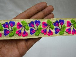 Decorative Saree Border Crafting Sewing Trim