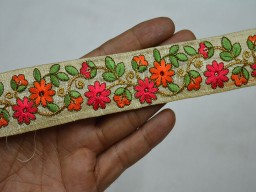Decorative Sari Border Indian Fabric Trim