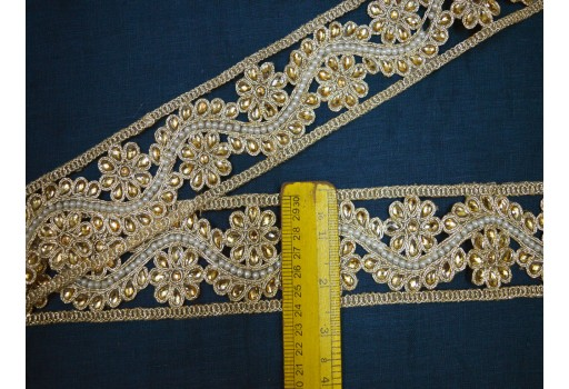 Decorative Costume Metallic beaded Trim