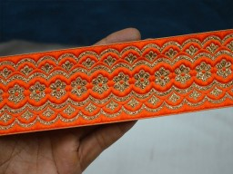 Indian Laces and Trims Jacquard Sewing Decorative Crafting Ribbon