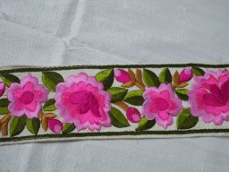Costume Trim Pink Fabric trims and embellishments