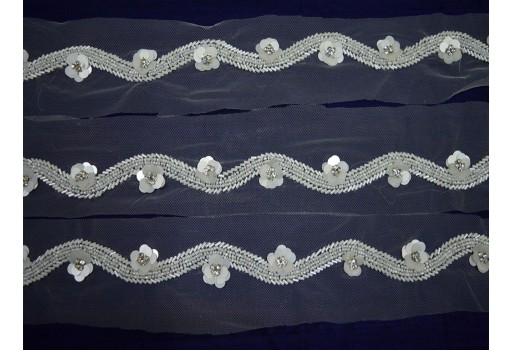 Costume Wedding Dress tapes ribbon Decorative Crafting Sewing Sari Border By Yard