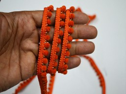 Orange Fringe Trim Wholesale Velvet Beaded Sewing Trim by 9 yard Beaded Lace Trim Tapes and trim decorative trim for curtains Crafting Fringe Acrylic Beaded Lace