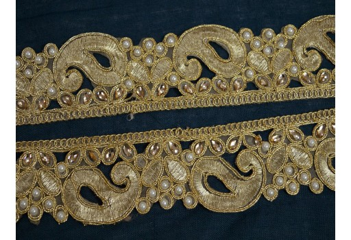 Decorative Trim Costume trim beaded Trim by the Yard