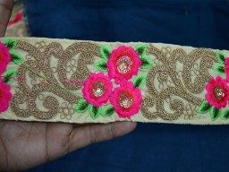 Decorative Trim Indian Sari Border