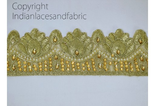 Costume beaded Trim by the Yard