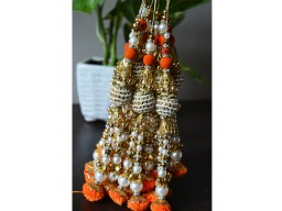 Decorative Tassles  Beaded Tassel for Wedding Lehenga