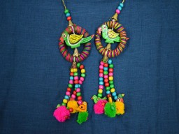 Handmade decorative tassels decorating supplies and Bells Embellishment Banjara Style Handmade Authentic Accessory Camel swag Latkans For Dress